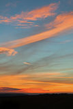 Sunset Sky in Sussex Royalty Free Stock Photos