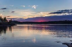 Water Reflection Photo Lake Ladoga Royalty Free Stock Image