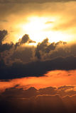 Sunset skyscape Royalty Free Stock Images