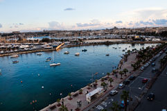 Sunset in Sliema, Malta Stock Photography