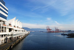 Vancouver Canada place waterfront port Stock Photo