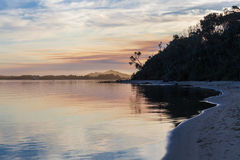 Sunset at Snowy River Estuary, Victoria, Australia Stock Photos