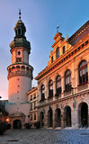Sunset in Sopron. Sunset in Hungary town Sopron Royalty Free Stock Photography