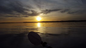 Sunset in the Sound Royalty Free Stock Images