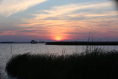 Sunset Sound Royalty Free Stock Image