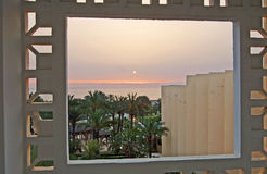 Sunset in Sousse, Tunisia Stock Photography