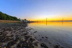 Sunset in South Queensferry Stock Images
