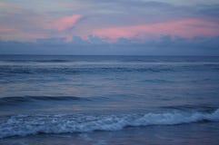 Sunset At The Southern Outer Banks, Emerald Isle, North Carolina Royalty Free Stock Photos