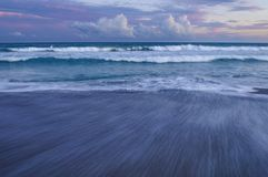 Sunset At The Southern Outer Banks, Emerald Isle, North Carolina Royalty Free Stock Photo