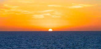 Sunset. Spactacular evening Sunset background shot Royalty Free Stock Image