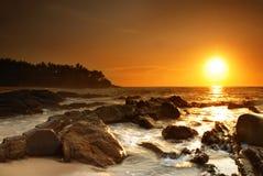 Sunset on Sri Lanka Stock Photos