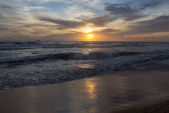 Sunset in sri lanka Royalty Free Stock Photo