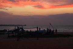 Sunset in Sri Lanka Stock Images