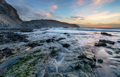 Sunset at St Agnes Royalty Free Stock Image