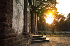 Sunset, St Catherine Chapel Stock Images