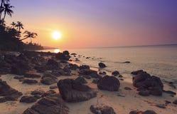 Sunset stones Royalty Free Stock Photo