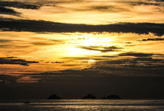 Sunset. Stunning time of the day is the sunset Stock Images