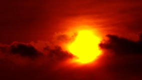 Sunset Sun And Bloody Dramatic Clouds. This is a beautiful time lapse video of War Planes In The Sunset Dramatic bloody Sky…Really nice colours and stock video