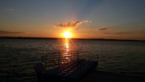 sunset, sun, nature royalty free stock photos