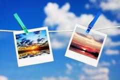 Sunset and sunrise Royalty Free Stock Photos