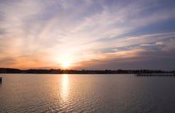 Sunset or Sunrise Stock Image
