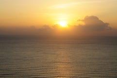 Sunset/sunrise Royalty Free Stock Photo