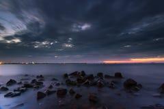 Sunset and sunrise Royalty Free Stock Images