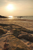 Sunset at Sunset Beach, Koh Lipe Royalty Free Stock Photo