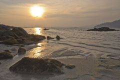 Sunset at Sunset Beach, Koh Lipe Stock Photography