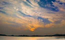 夕阳日落 stock photography