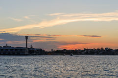 The Sunset on Sydney, Australia. Royalty Free Stock Photography