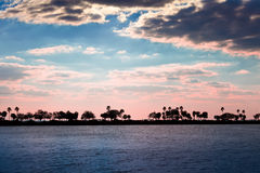 Sunset at Tampa, Florida Stock Photo