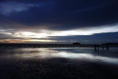 Sunset at Tanjung Aru - Kota Kinabalu, Sabah Stock Photos