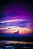 Sunset at Teluk Sisek Royalty Free Stock Image