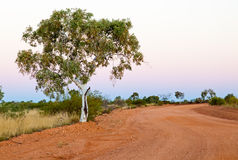 Sunset at Tennant Creek Stock Photo