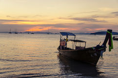 Sunset in thailand Stock Images