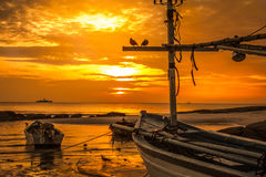 sunset in Thailand. Stock Images