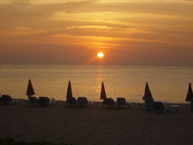 sunset Thailand phuket Obrazy Royalty Free