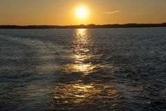 Sunset at Thousand Islands Royalty Free Stock Image