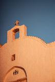 Sunset time exterior details of traditional style Royalty Free Stock Photos