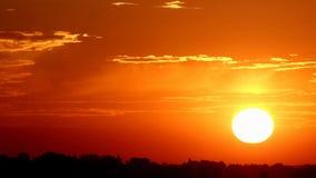 Sunset stock video