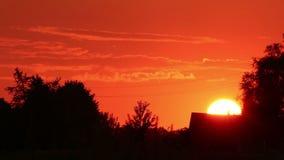 Sunset time lapse Stock Photos
