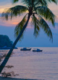 Sunset on Tioman island Royalty Free Stock Images