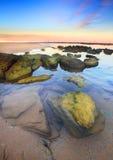 Sunset Toowoon Bay, Australia Stock Photography
