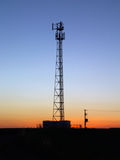 Sunset tower Royalty Free Stock Image