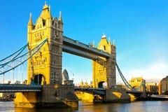 Sunset Tower Bridge stock image
