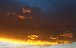 Sunset Tucson Arizona Royalty Free Stock Photography