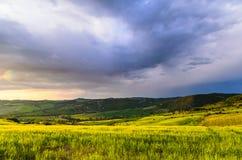 Sunset Tuscany Stock Image