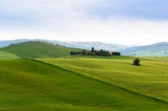 Sunset Tuscany Royalty Free Stock Image