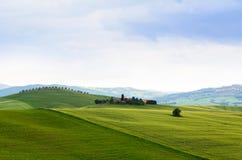 Sunset Tuscany Royalty Free Stock Photo